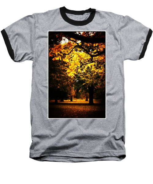 Autumnal Walks Baseball T-Shirt