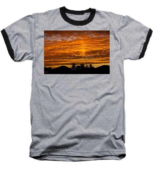 1 Awsome Sunset Baseball T-Shirt