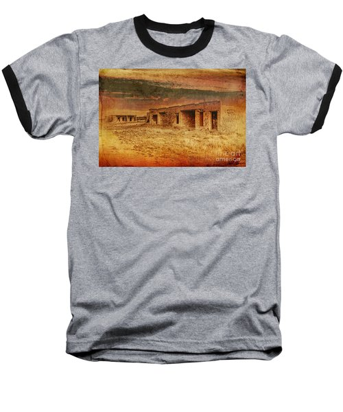 Back In The Day Baseball T-Shirt by Erika Weber