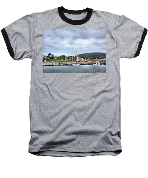 Bar Harbor Maine Baseball T-Shirt by Kristin Elmquist
