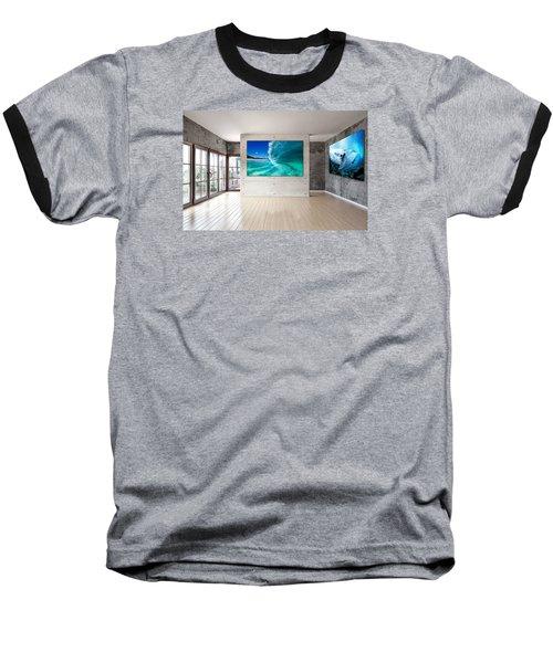 Barrel Swirl Baseball T-Shirt