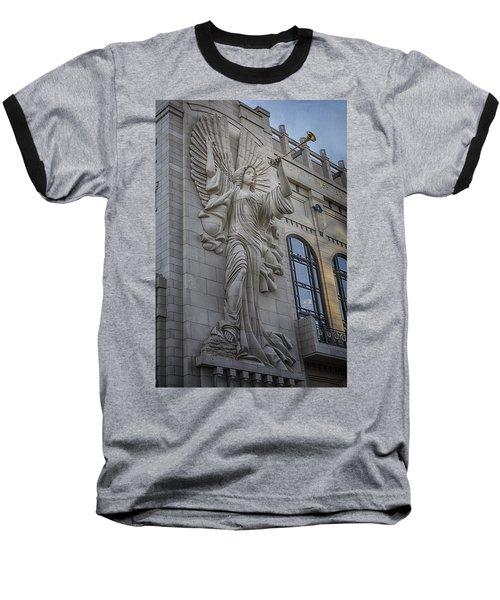Bass Hall Angel Baseball T-Shirt