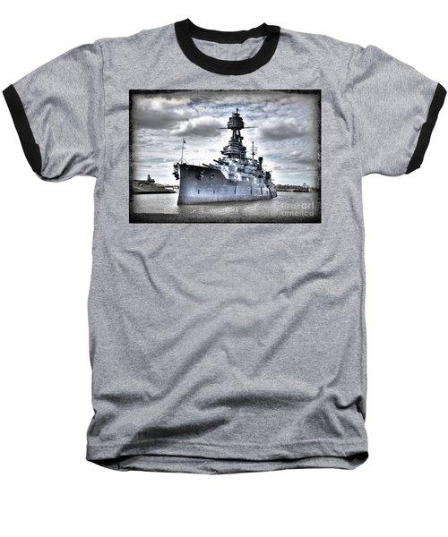 Battleship Texas Baseball T-Shirt