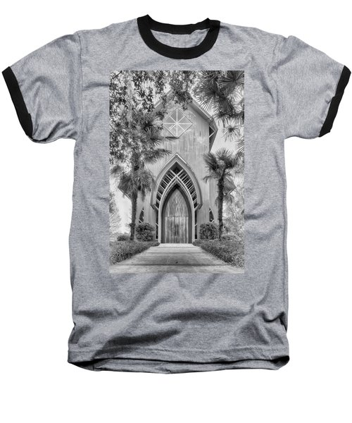 Baseball T-Shirt featuring the photograph Baughman Meditation Center  by Howard Salmon