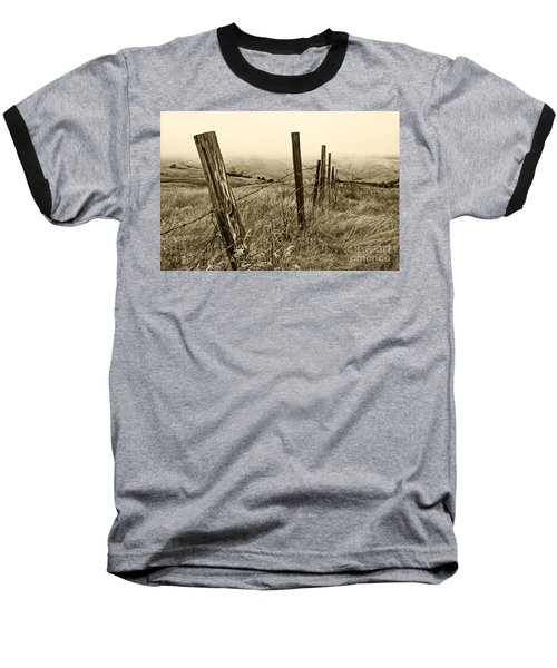 Bay Hill Road Baseball T-Shirt by Roselynne Broussard