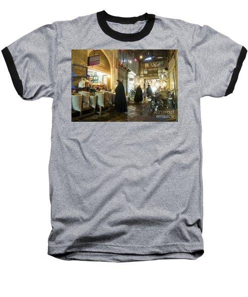 Bazaar Market In Isfahan Iran Baseball T-Shirt