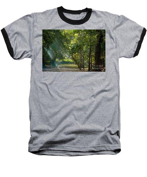 Beautiful Morning Baseball T-Shirt by Kiran Joshi
