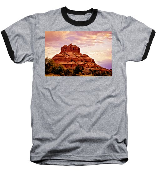 Bell Rock Vortex Painting Baseball T-Shirt
