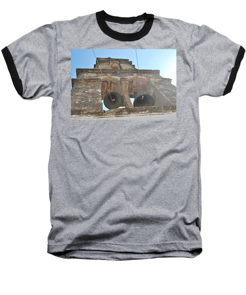 Baseball T-Shirt featuring the photograph Bell Tower 1584 by George Katechis
