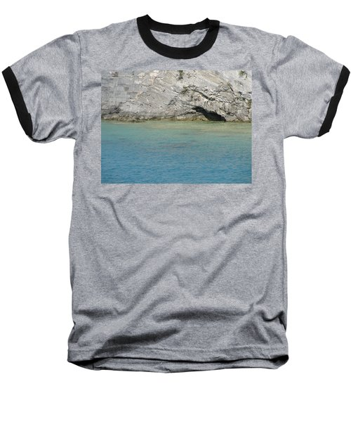 Bermuda Cave Baseball T-Shirt