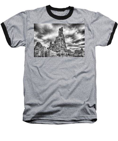 Baseball T-Shirt featuring the photograph Big Thunder Mountain Railroad by Howard Salmon