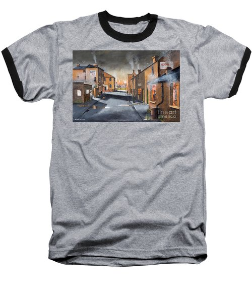 Black Country Village From The Boat Yard Baseball T-Shirt