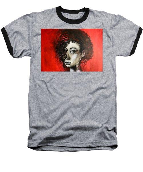 Black Portrait 23 Baseball T-Shirt