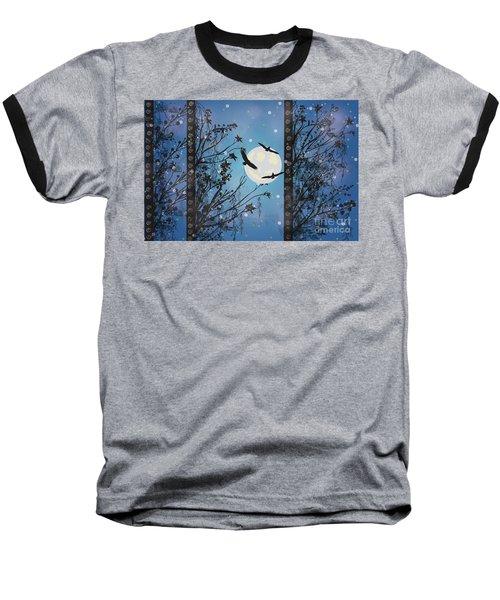 Blue Winter Baseball T-Shirt