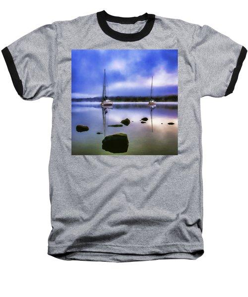 Boats On Ullswater Baseball T-Shirt