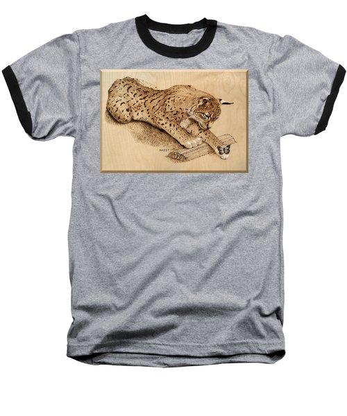 Bobcat And Friend Baseball T-Shirt