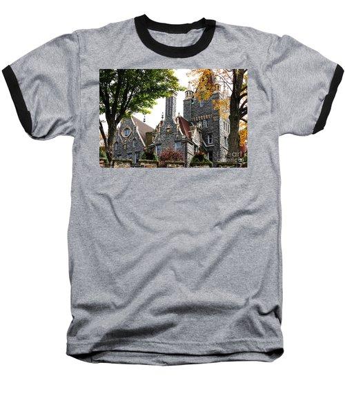 Boldt Castle Baseball T-Shirt
