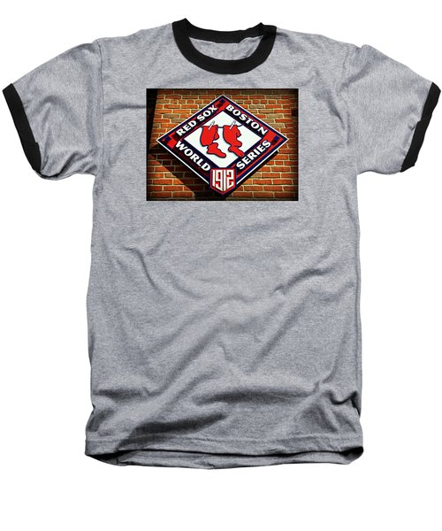 Boston Red Sox 1912 World Champions Baseball T-Shirt by Stephen Stookey