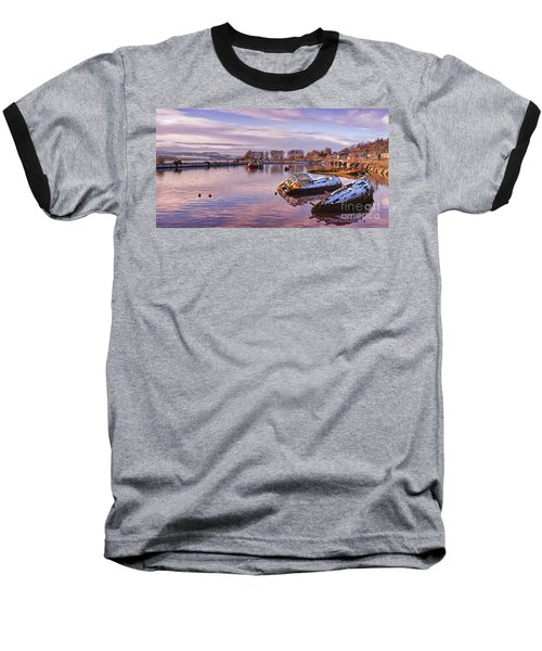 Bowling Harbour Panorama 02 Baseball T-Shirt