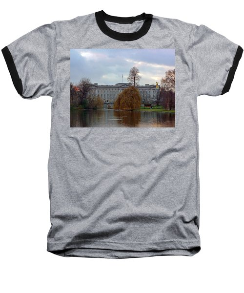 Buckingham Palace Baseball T-Shirt by Lynn Bolt
