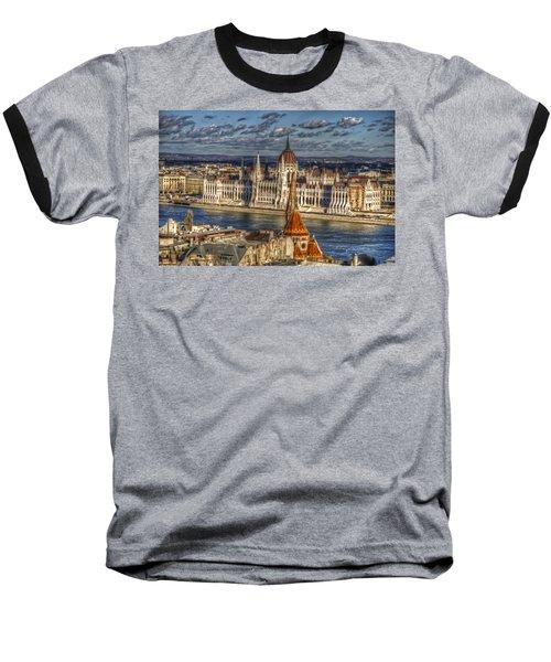 Buda Parliament  Baseball T-Shirt