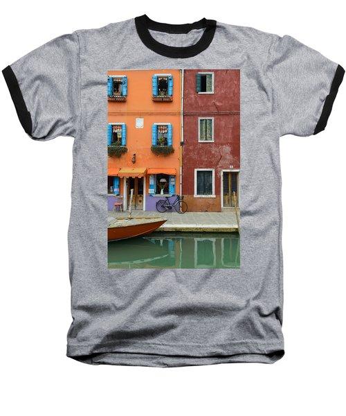 Burano Italy Baseball T-Shirt
