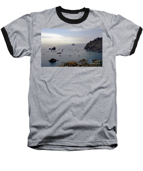 Baseball T-Shirt featuring the photograph Busy Harbor by Sharon Elliott