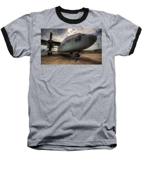 C-119 Flying Boxcar Baseball T-Shirt
