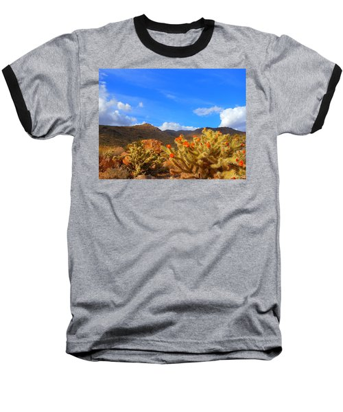Cactus In Spring Baseball T-Shirt