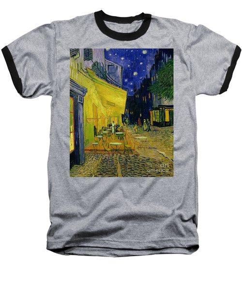 Cafe Terrace Arles Baseball T-Shirt