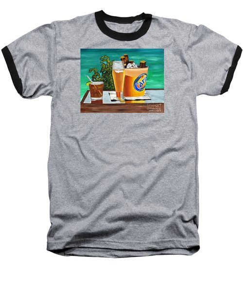 Caribbean Beer Baseball T-Shirt
