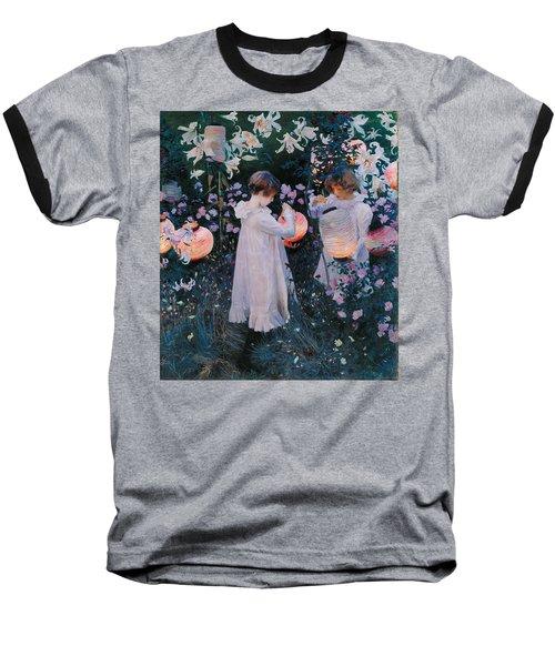 Carnation Lily Lily Rose Baseball T-Shirt