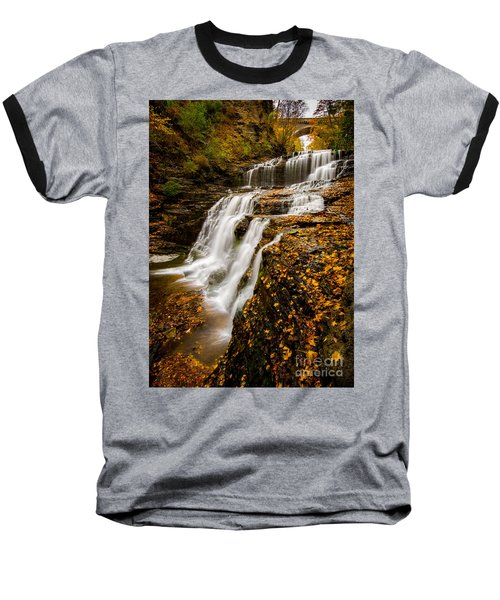 Cascadilla Gorge Baseball T-Shirt