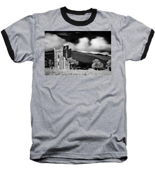 Castle Ruins / Ireland Baseball T-Shirt