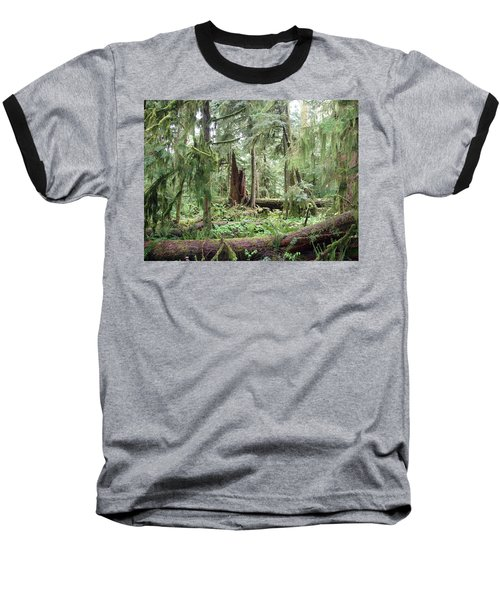 Baseball T-Shirt featuring the photograph Cathedral Grove by Marilyn Wilson