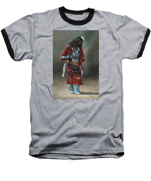 Ceremonial Red Baseball T-Shirt