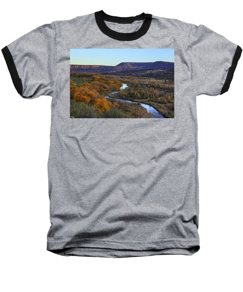 Chama River At Sunset Baseball T-Shirt