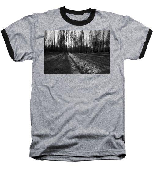 Charred Silence - Yosemite Rim Fire 2013 Baseball T-Shirt