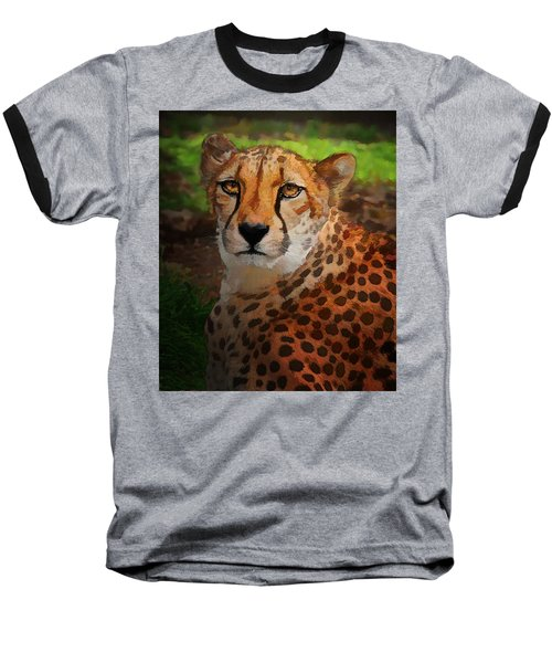 Cheetah Mama Baseball T-Shirt