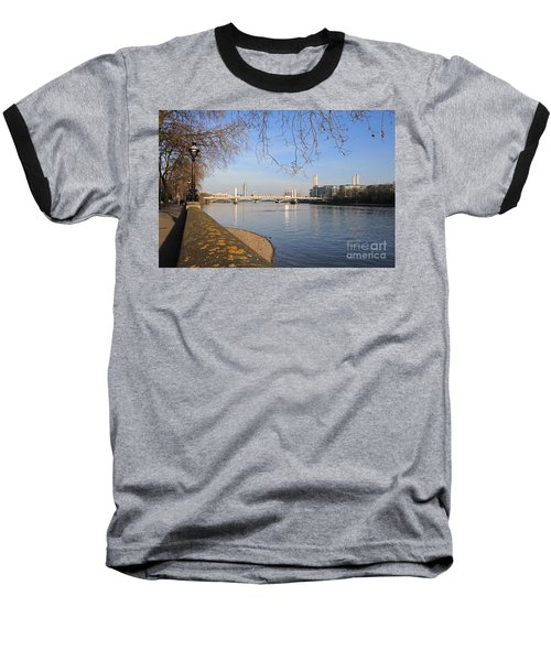 Chelsea Embankment London Uk Baseball T-Shirt