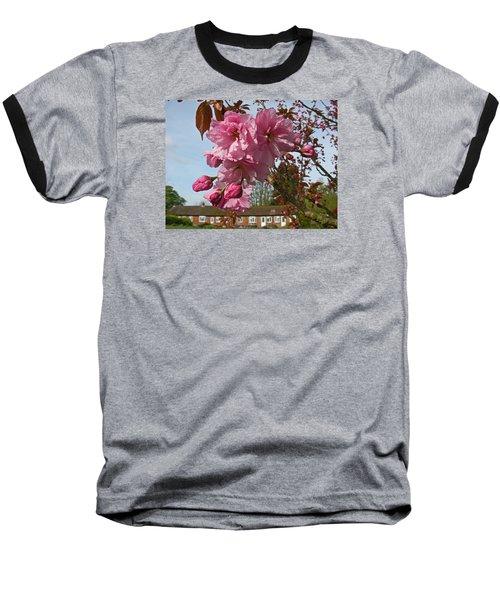 Cherry Blossom Spring Baseball T-Shirt