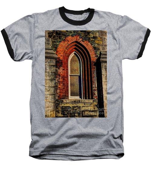 Churches On Church Street Baseball T-Shirt