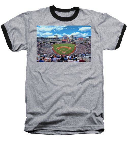 Citi Field 2 - Home Of The N Y Mets Baseball T-Shirt
