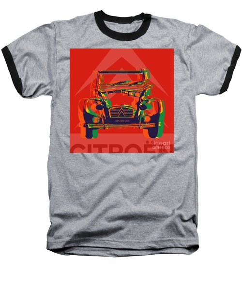 Citroen 2cv Baseball T-Shirt