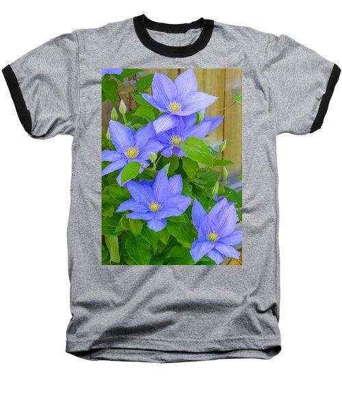 Clematis  Baseball T-Shirt