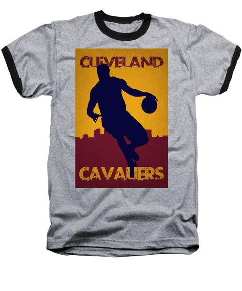 Cleveland Cavaliers Lebron James Baseball T-Shirt