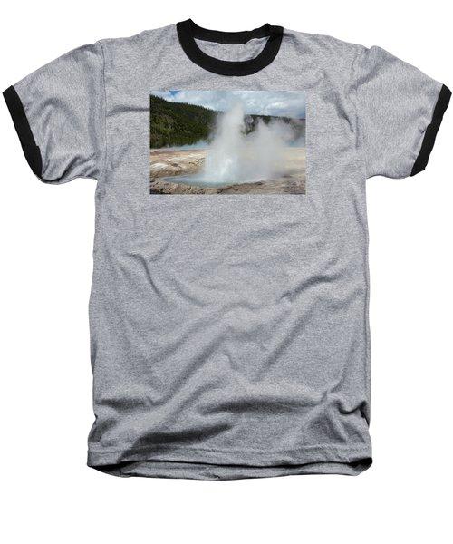 Cliff Geyser Baseball T-Shirt