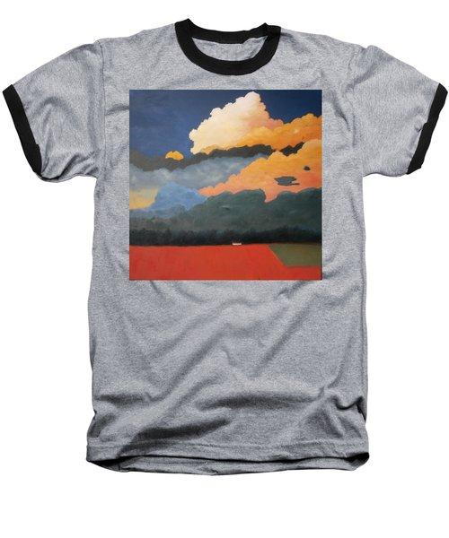 Cloud Rising Baseball T-Shirt by Gary Coleman