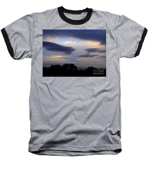 Cloudy Day 2 Baseball T-Shirt