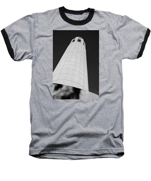 Coit Tower San Francisco Baseball T-Shirt